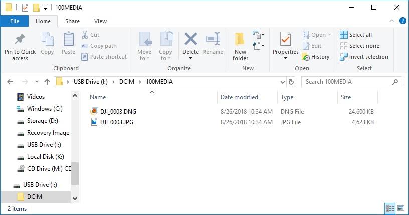 HOW TO: Retrieve photos/videos from internal memory on Mavic 2